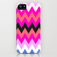 Zigzag #10 iPhone & iPod Case by Ornaart