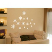 ADZif Spot Snowflakes Wall Decal - N0007 - All Wall Art - Wall Art & Coverings - Decor