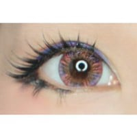 Royal Vision Creamy Reddish Purple Violet Circle Lenses Colored Contacts Cosmetic Color Circle Lens | EyeCandy's