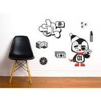 ADZif Ado Penguin Wall Decal - A6713 - All Wall Art - Wall Art & Coverings - Decor