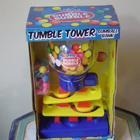 Gumball Machine Tumble Tower Bubble Gum Machine