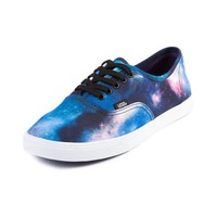 Vans Authentic Lo Pro Nebula Skate Shoe, Black | Journeys Shoes
