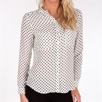 PJK Women's Contemporary Laurel Button Down Blouse at Von Maur