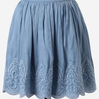 Haute-savoie Embroidered Skirt