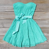 Meadow Grass Dress, Sweet Women's Summer & Party Dresses