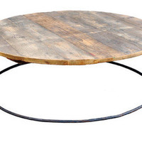 canvas  — Reclaimed Wood Cocktail Table