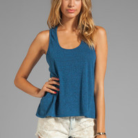 Daftbird Heather Loose Tank in Bluebird from REVOLVEclothing.com