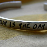 today is the day bracelet