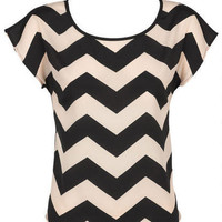 Chevron Open Back