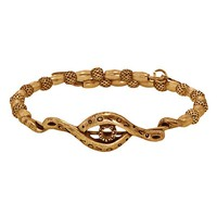 Alex and Ani Protective Eye Wrap - Russian Gold