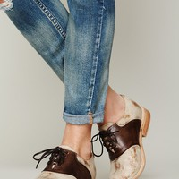 Free People Hathaway Saddle Shoe