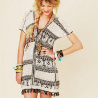 Free People Festival Blanket Tunic