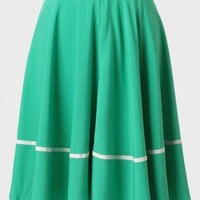 Green Gables Circle Skirt