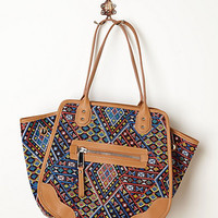 Diamond Tapestry Shoulder Bag