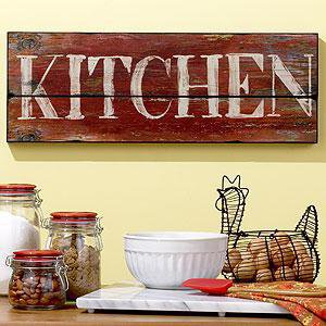 Kitchen sign wall decor cost plus from cost plus world for World market wall decor