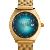 Green Color Burst Watch