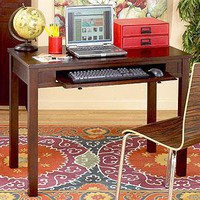 Newton Desk Espresso - Desks - Cost Plus World Market