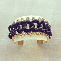 Pree Brulee - Art Ball Cuff