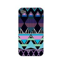Pastel Tribal inspired iPhone 4/4S Case-Mate Case from Zazzle.com