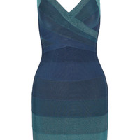 Hervé Léger Amee ombré bandage dress – 52% at THE OUTNET.COM
