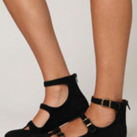 Jeffrey Campbell T-Strap Flat at Free People Clothing Boutique