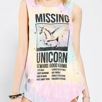Urban Outfitters - Truly Madly Deeply Missing Unicorn Muscle Tee