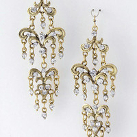 NEW Couture Filigree Chandelier Earrings - Multiple Colors