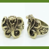 Cobra Fashion Statement Ring | LilyFair Jewelry