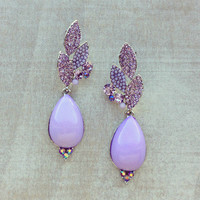 Pree Brulee - Lavender Sparkle Earrings