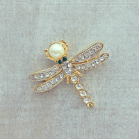 Pree Brulee - Magical Dragonfly Pin