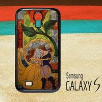 Belle dancing with Prince Adam Samsung Galaxy S2 S3 S4 Cases