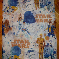 Vintage 1970s STAR WARS Single Duvet Cover