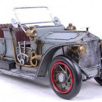 1917 Military Car by DaysGoneBy on Zibbet