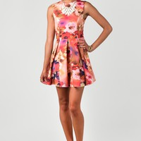 The Floral Frenzy Dress