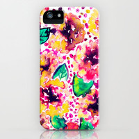 Posie iPhone & iPod Case by Amy Sia