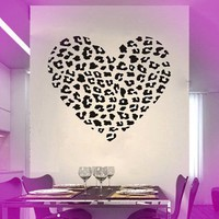 Sweet Heart Creative Heart Removable Wall Art Decal Sticker