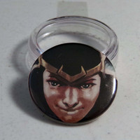 "Comic Book 1.5"" Button// Kid Loki"