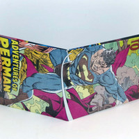 Comic Book Wallet// Superman