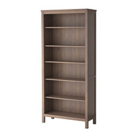 HEMNES Bookcase - gray-brown - IKEA