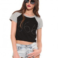 Devilish Raglan Crop Tee - Game Changer - Trends | GYPSY WARRIOR