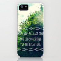 The Last Time iPhone & iPod Case by RDelean