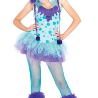 Polka Dotty Costume, Furry Monster Costume, Halloween Costumes, Sexy Costumes