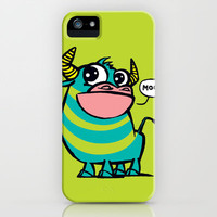 MooGrin iPhone & iPod Case by Mirabilis
