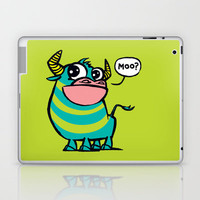 MooGrin Laptop & iPad Skin by Mirabilis