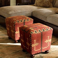 &quot;Kilim&quot; Cube - Horchow
