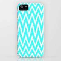 Mint zig Zag iPhone & iPod Case by  Alexia Miles photography