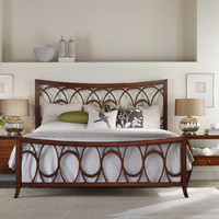 Marquette Queen Size Fretwork Bed