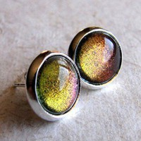 ShanaLogic.com - 100% Handmade  Independent Design! Dragon&#x27;s Eye Stud Earrings - New Arrivals
