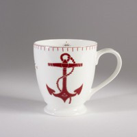 Seaside Anchor Tall Mug