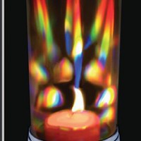 Rainbow Crystal Prism Candle Lantern - Candle Holder - Rainbow Maker - The Love Lantern